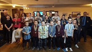 Junior Golfers awards evening